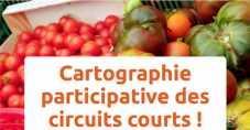 Carte participative des circuits courts pour les achats de fruits et légumes
