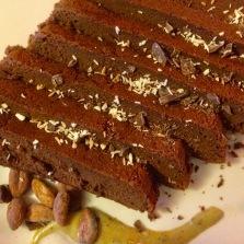 Recette de gâteau au chocolat noir, lait de coco et épices